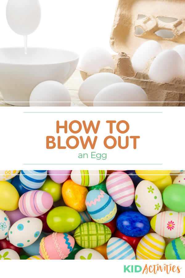 Learn three methods for blowing out an egg.