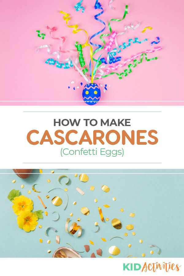 A step-by-step guide on how to make the famous cascarone eggs. These popular eggs are also known as confetti eggs and can be used for various celebrations such as Easter, birthday parties, and New Years celebrations.