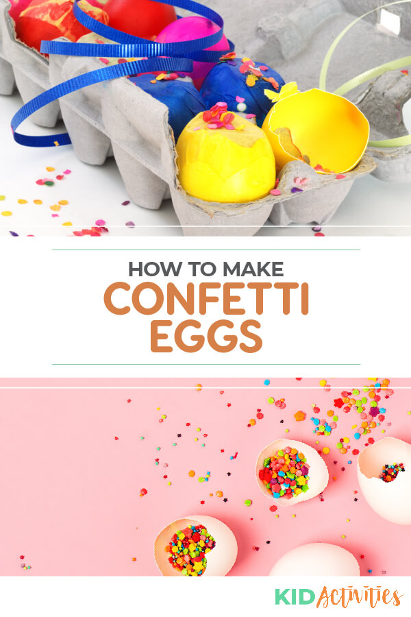Learn how to make confetti eggs step by step. These popular eggs are traditionally used at Easter, birthdays, and New Years. Thought to bring luck and make wishes come true.
