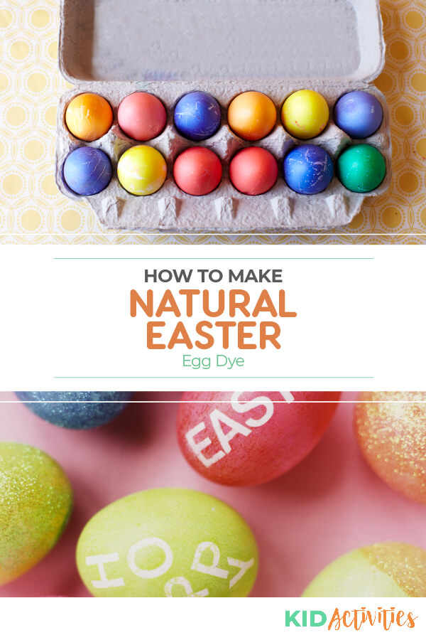 Learn how to dye Easter eggs naturally.