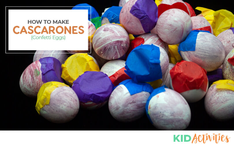 Learn how to make cascarones also known as confetti eggs.